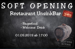 UnsinkBar opening